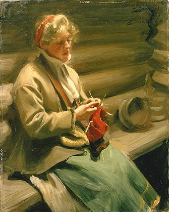 Cabbage Margit, 1901 (Anders Zorn) (1860-1920)  Nationalmuseum Stockholm, NM 3374