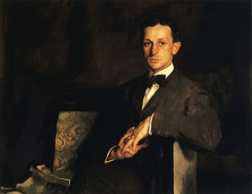 Dr. Harvey Cushing, 1908 (Edmund Charles Tarbell) (1862-1938)   Dittrick Medical History Center, Cleveland, OH