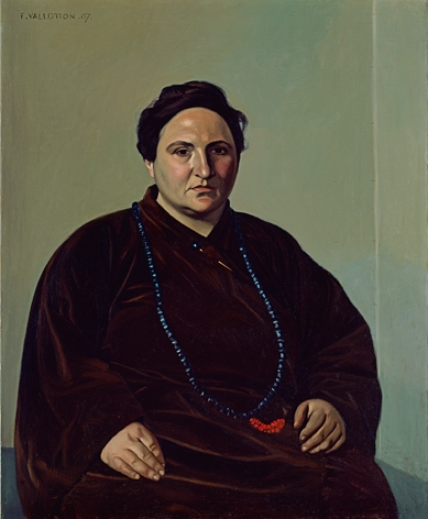 Gertrude Stein, 1907 (Felix Valloton) (1865-1925)  Baltimore Museum of Art, Cone Collection, Baltimore, MD   1950.300