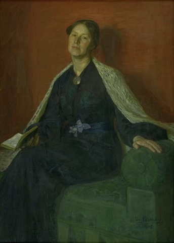 A Lady, 1905 (August Eiebaake) (1867-1938) Statens Museum for Kunst, København