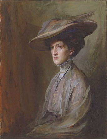 Margot Asquith, 1909 (Philip de László) (1869-1937)   Location TBD