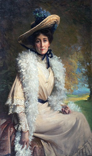 Mrs. Walter Frith, 1904 (George Percy Jacomb-Hood) (1857-1929)  Bonhams Auction House
