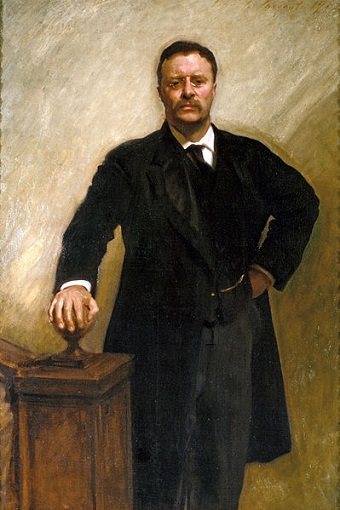 Theodore Roosevelt, President of the United States, 1903 (John Singer Sargent) (1856-1925)  White House Art Collection, Washington, D.C.