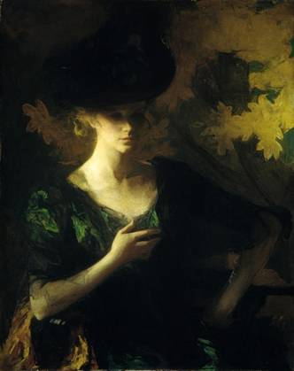A Lady, 1901  (Frank W. Benson) (1862-1951)    The Metropolitan Museum of Art, New York, NY    06.1221
