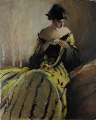 A Woman,  ca. 1906  (John White Alexander) (1856-1915)   The Metropolitan Museum of Art, New York, NY    1995.483