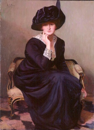 A Woman, 1914 (Lilla Cabot Perry) (1848-1933)  Currier Museum of Art, Manchester, NH
