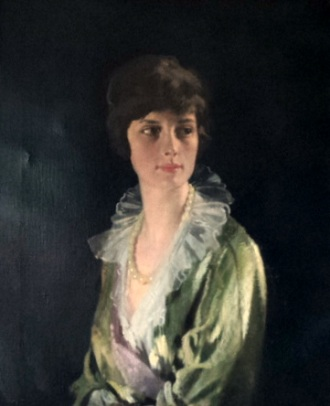 "Elizabeth ""Lily"" Haseltine Carstairs, 1914, July 15th (William Orpen) (1878-1931)  Location TBD"
