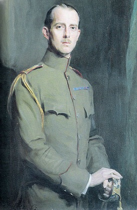 Prince Andrew of Greece, 1913 (Philip de László) (1869-1937)   Private Collection of Prince Philip, Duke of Edinburgh