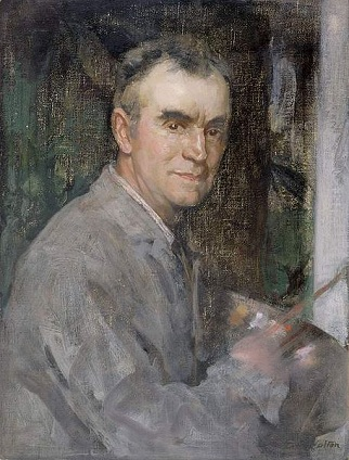 Self-Portrait, 1915 (Edward Arthur Walton) (1860-1922)  The Fitzwilliam Museum, Cambridge