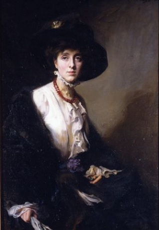 Vita Sackville-West, 1910 (Philip de László) (1869-1937)   Location TBD
