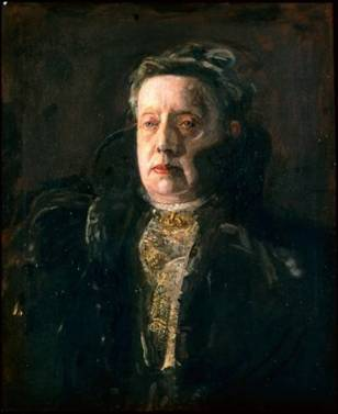 Mrs. Gilbert L. Parker, 1910 (Thomas Eakins) (1844-1916)  Museum of Fine Arts, Boston, MA    RES.32.28