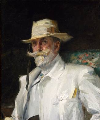 William Merritt Chase, ca. 1910  (Annie Traquair Long) (1885-1918)    The Metropolitan Museum of Art, New York, NY      1977.183.1