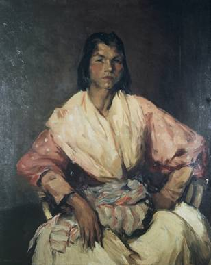 A Spanish Gypsy, ca. 1912  (Robert Henri) (1865-1929)    The Metropolitan Museum of Art, New York, NY     14.80