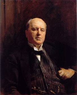 Henry James, ca. 1913  (John Singer Sargent)  (1856-1925)  Location TBD