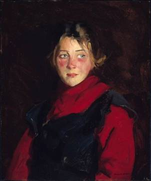 Mary ODonnel, 1913  (Robert Earle Henri) (1865-1929)   Museum of Fine Arts, Boston, MA    48.562