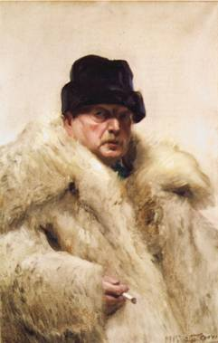Self-Portrait, ca. 1915  (Anders Zorn) (1860-1920)  Location TBD