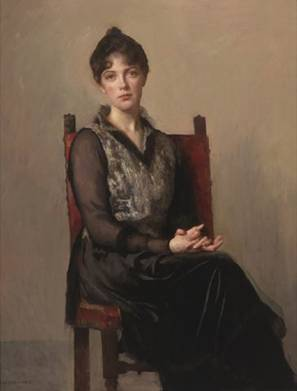 Josephine, The Artist's Daughter, 1915 (Edmund Charles Tarbell) (1862-1938) Adelson Galleries, New York, NY