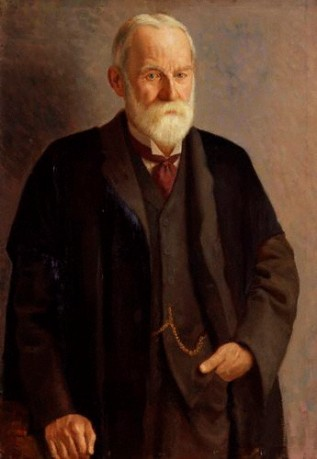 Sir George Howard Darwin, 1912 (Mark Gertler) (1891-1939)  National Portrait Gallery, London