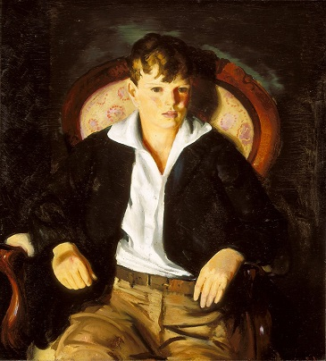A Boy, 1921 (George Bellows) (1882-1925) Indianapolis Museum of Art, IN, 34.5