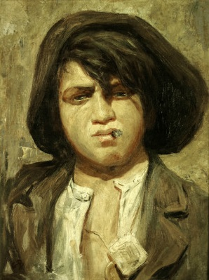 A Boy from New York, ca. 1920 (George Bellows) (1882-1925) Brigham Young Museum of Art, Provo, UT, 840047100