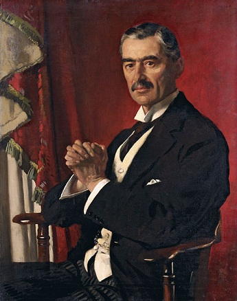 Neville Chamberlain, 1929 (William Orpen) (1878-1931) Sotheby's Sale L07132, Lot 76