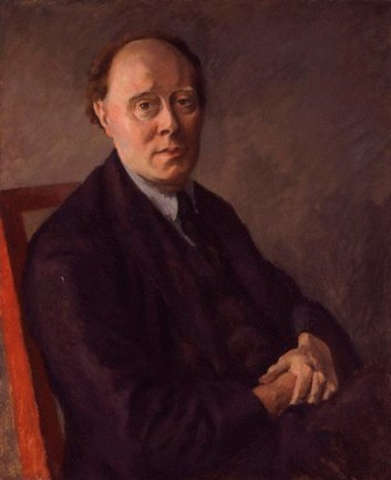 Clive Bell, ca. 1924 (Roger Fry) (1866-1934) National Portrait Gallery, London NPG 4967