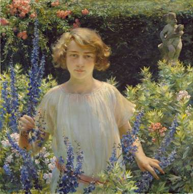 Betty Newel, 1922 (Charles Courtney Curran) (1861-1942) The Metropolitan Museum of Art, New York, NY 1996.356