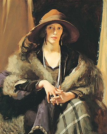 Miss Collins, 1924 (W. B. McInnes) (1889-1939) Art Gallery of South Australia, Adelaide 0.763