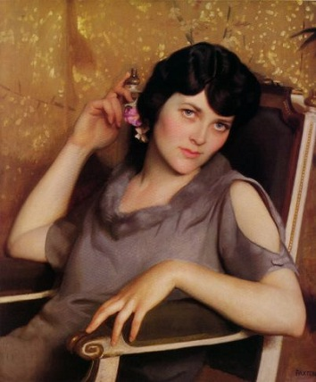 A Young Woman, 1926 (William McGregor Paxton) (1869-1941) Location TBD