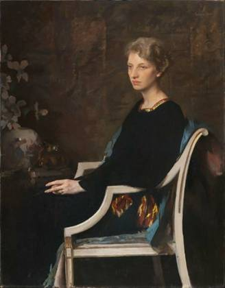 Mrs. Lovering Hathaway (Elizabeth Elfreth), 1936 (Edmund Charles Tarbell) (1862-1938) Museum of Fine Arts, Boston, MA 2007.384