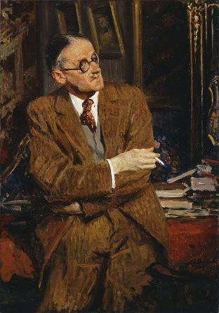 James Joyce, 1935 (Jacques-Émile Blanche) (1861-1942) National Portrait Gallery, London NPG 3883