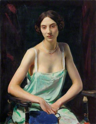 A Young Woman, 1932 (George Spencer Watson) (1869-1934) Location TBD