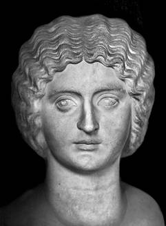 A Woman,   early 3rd century C.E.,   Musei Vaticani, Roma   (photo: !STORAX, Flickr)
