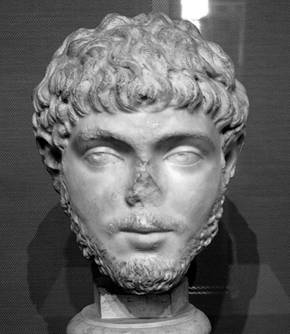 A Young Man, possibly Elagabalus,     Musei Capitolini, Centrale Montemartini, inv. no. 1748; Helbig4 1627