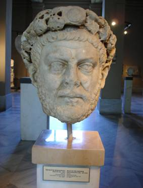 Diocletian, Roman Emperor, reigned 284-305,     Archaeological Museum, Istanbul