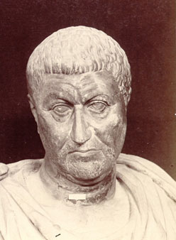Diocletian, Roman Emperor, reigned 284-305,      Location TBD