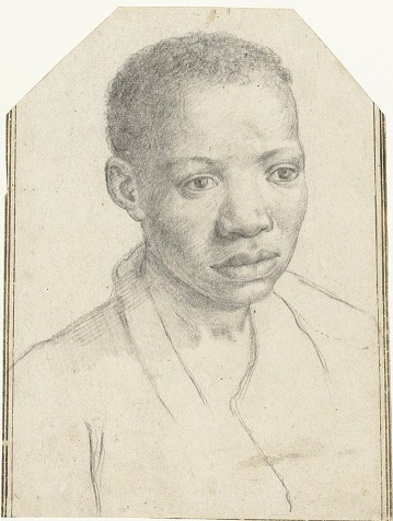 A Young Man, ca. 1595-1605, by Annibale Carraci (1560-1609)  Rijksmuseum Amsterdam