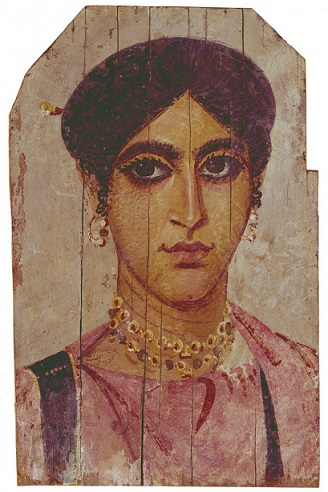 A Woman, er Rubayat, AD 325-350 (Richmond, VA, Virginia Museum of Fine Arts, 55.4)