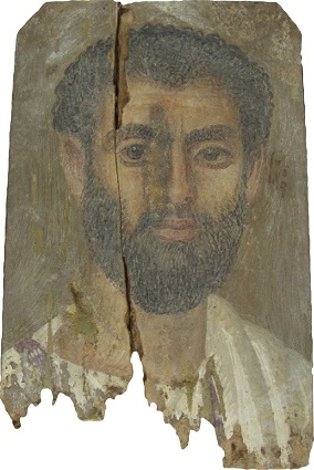 A Man, Tebtunis, AD 200-225 (Berkeley, CA, Ph. A. Hearst Museum, 6-21379) 276