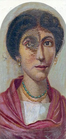 A Woman, Hawara, AD 160-180 (London British Museum, EA 74710)