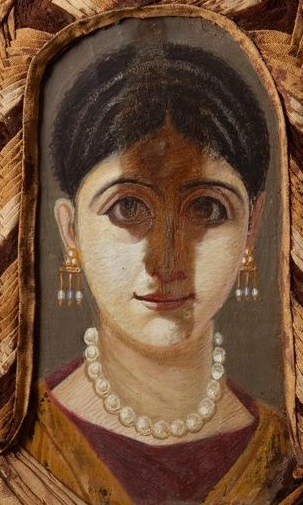 A Woman, Hawara, AD 98-117 (Oxford, Ashmolean Museum, AN 1888.832)