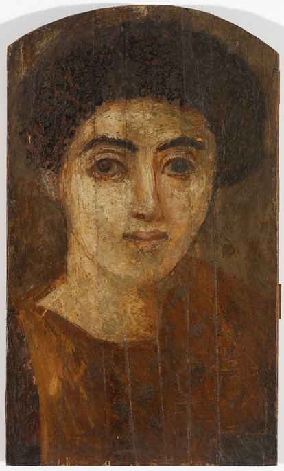 A Young Woman, ca. 70 CE, Fayyum, (Rhode Island School of Design Museum, Providence,  17.060)