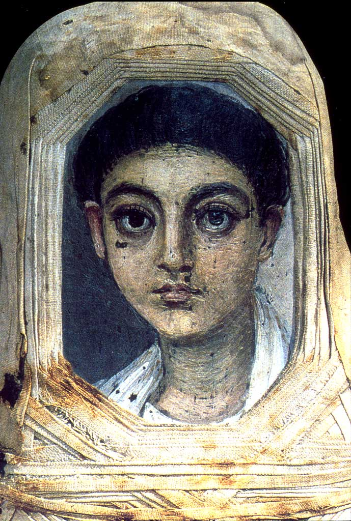 A Young Boy, Hawara, AD 100-120 (London, British Museum, EA 13595)