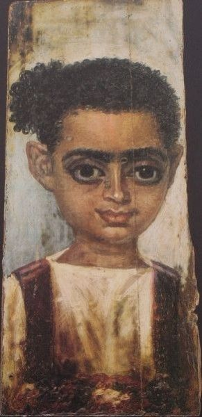 A Boy, Antinoopolis (?), AD 130-150 (Holle, private collection)