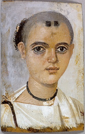 A Boy, ca. 150-200 AD (Malibu, CA, J. Paul Getty Museum)