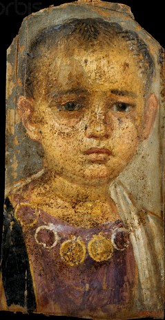 A Young Girl, Hawara, AD 70-95 (Cairo, Egyptian Museum, CG 33240) Photo: Sandro Vannini (Corbis)