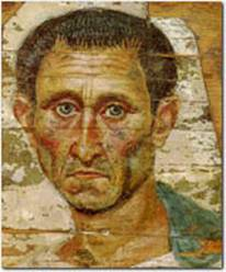 A Man, end 1st cent. AD (Moscow, Pushkin Museum, I 1a 5771/4290)