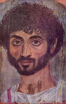 A Man, Akhmin, ca AD 150 (New York, NY, Metropolitan Museum of Art, 09.181.1)