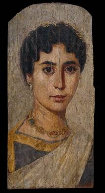 A Woman, er Rubayat, AD 160-170 (London, British Museum, EA 65346)