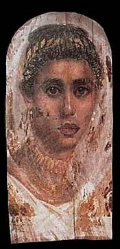 A Woman, Saqqarah, AD 100-120 or 138-161 (London, British Mueum, EA 29772)